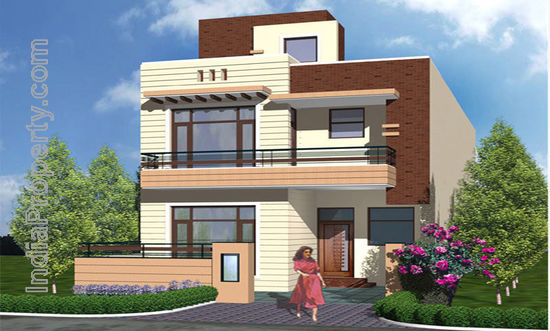 Property prices in india independent duplex house for Independent house designs in india