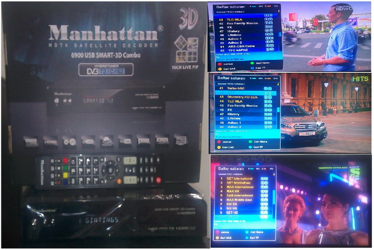 MANHATTAN 6900 USB SMART-3D COMBO