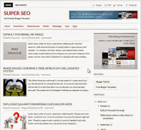 Super SEO Blogger Template ini