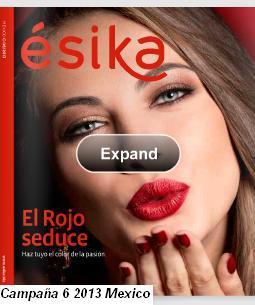 catalogo esika campaña 6 2013 mx