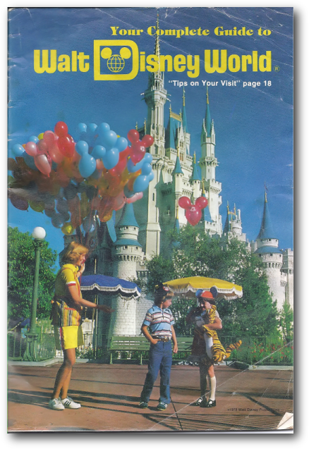 walt disney world guide book