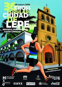 XXXVI Edición del Cross Ciudad de Lepe, Memorial Rubén María Gatón Camacho