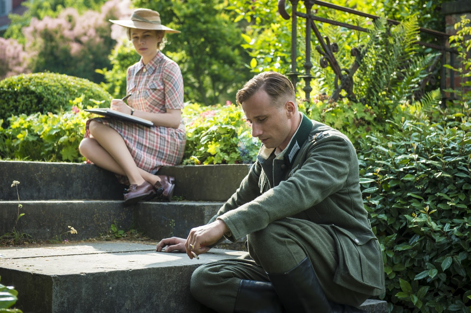 suite française Suite française 2014 tv-ma 1h 47m waiting for news of her prisoner-of-war husband, a french woman in nazi-occupied france reluctantly falls for a german officer quartering in her home.