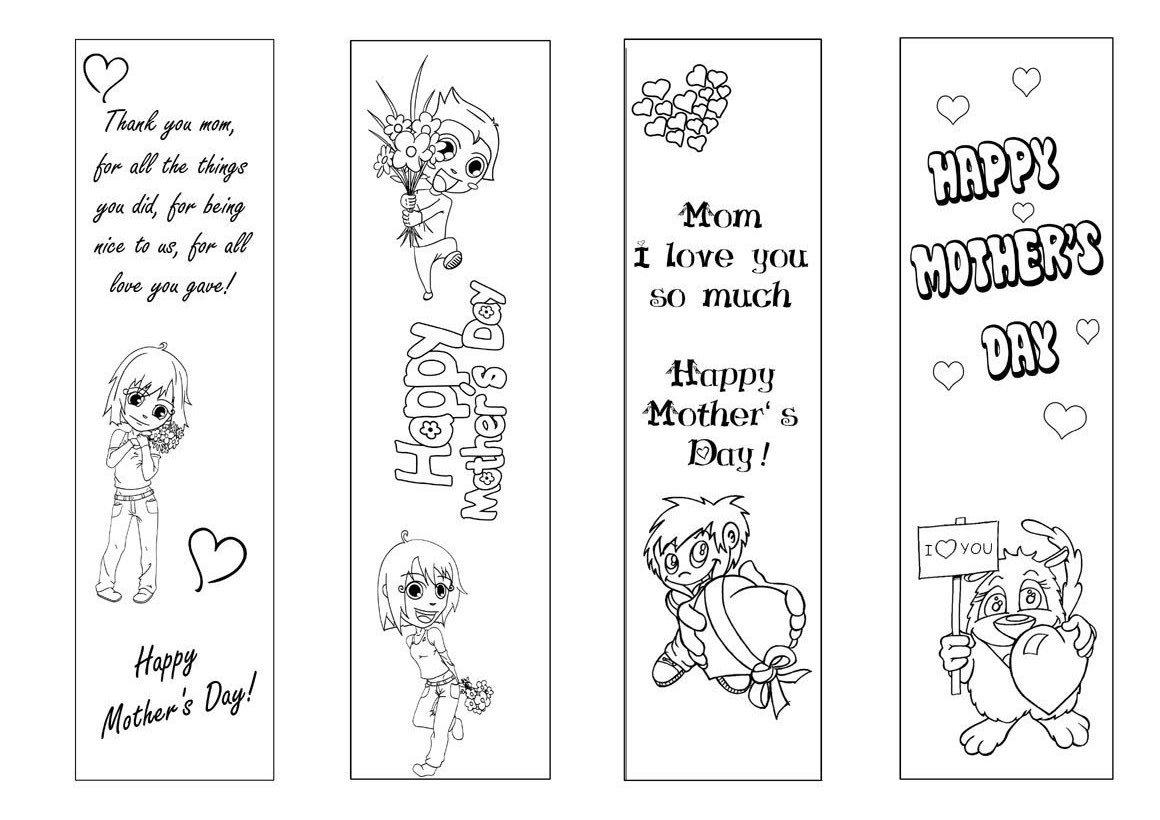 Silvinha Ama Educar Cartão Para O Dia Das Mães Em Inglês