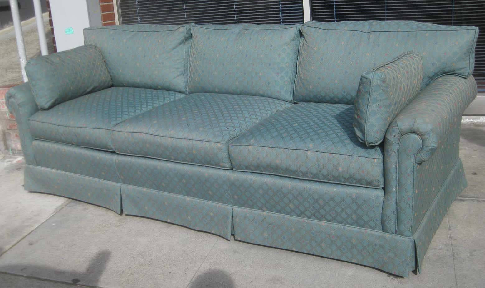Uhuru furniture collectibles sold turquoise sofa 85 - Turquoise sofa ...