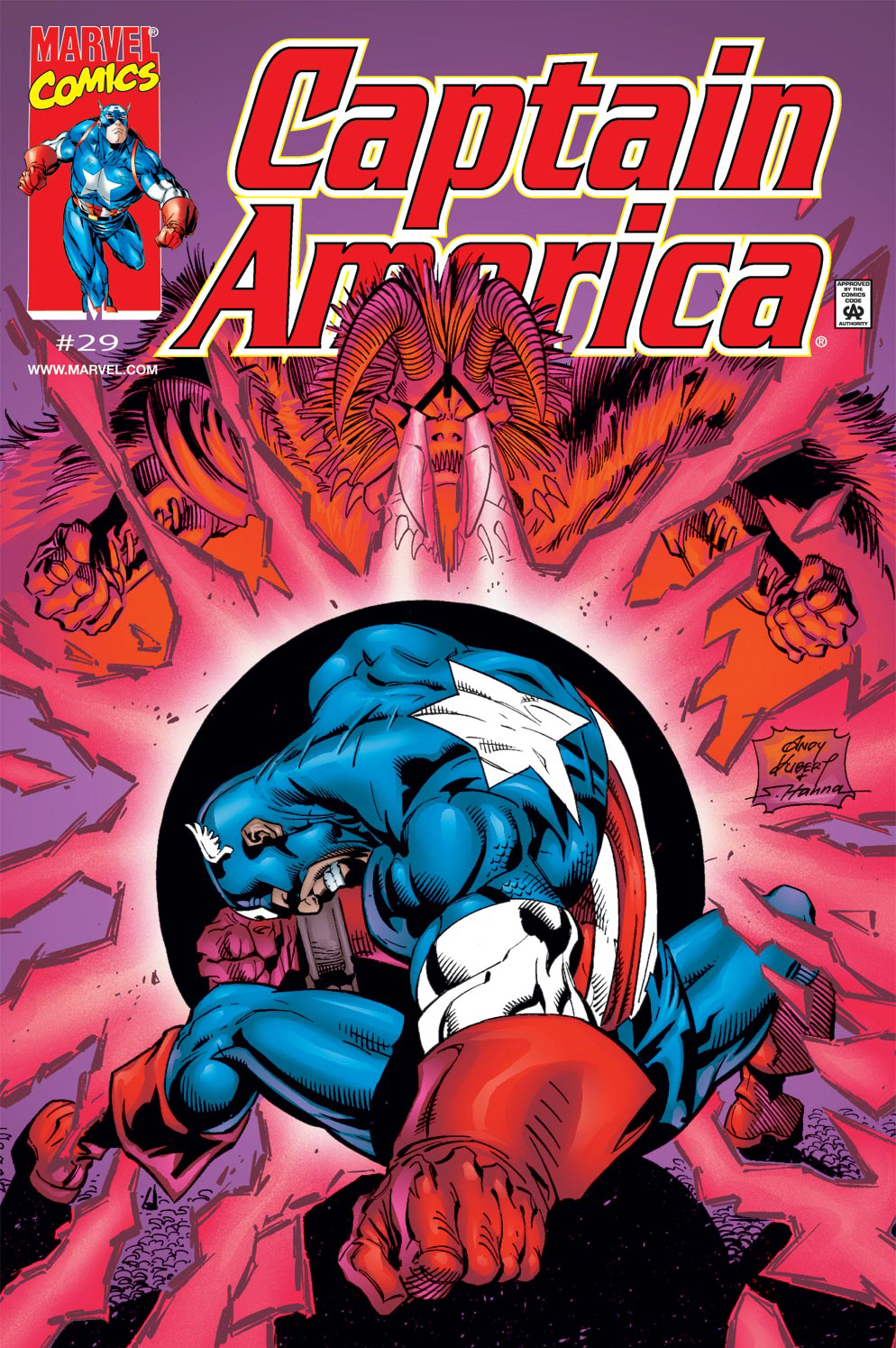 Captain America (1998) Issue #29 #35 - English 1