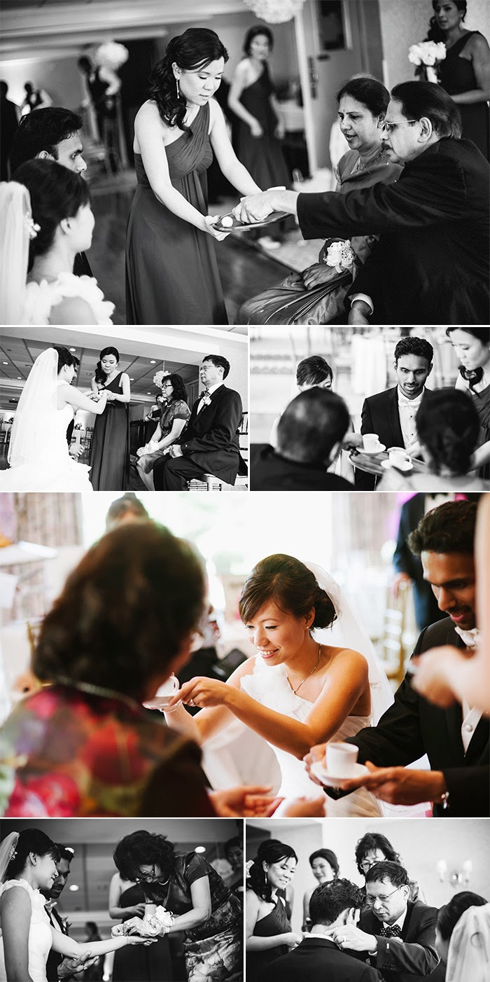 New York Long Island wedding photography Swan Club tea ceremony
