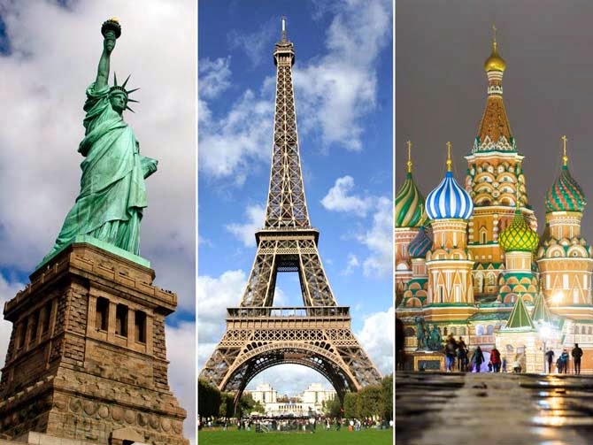 Famous monuments around the world for Famous monuments around the world