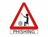 phishing caution