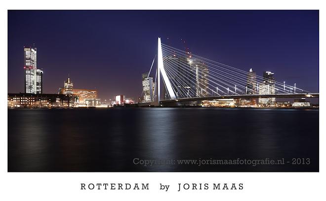 Rotterdam - de Maas / Erasmusbrug