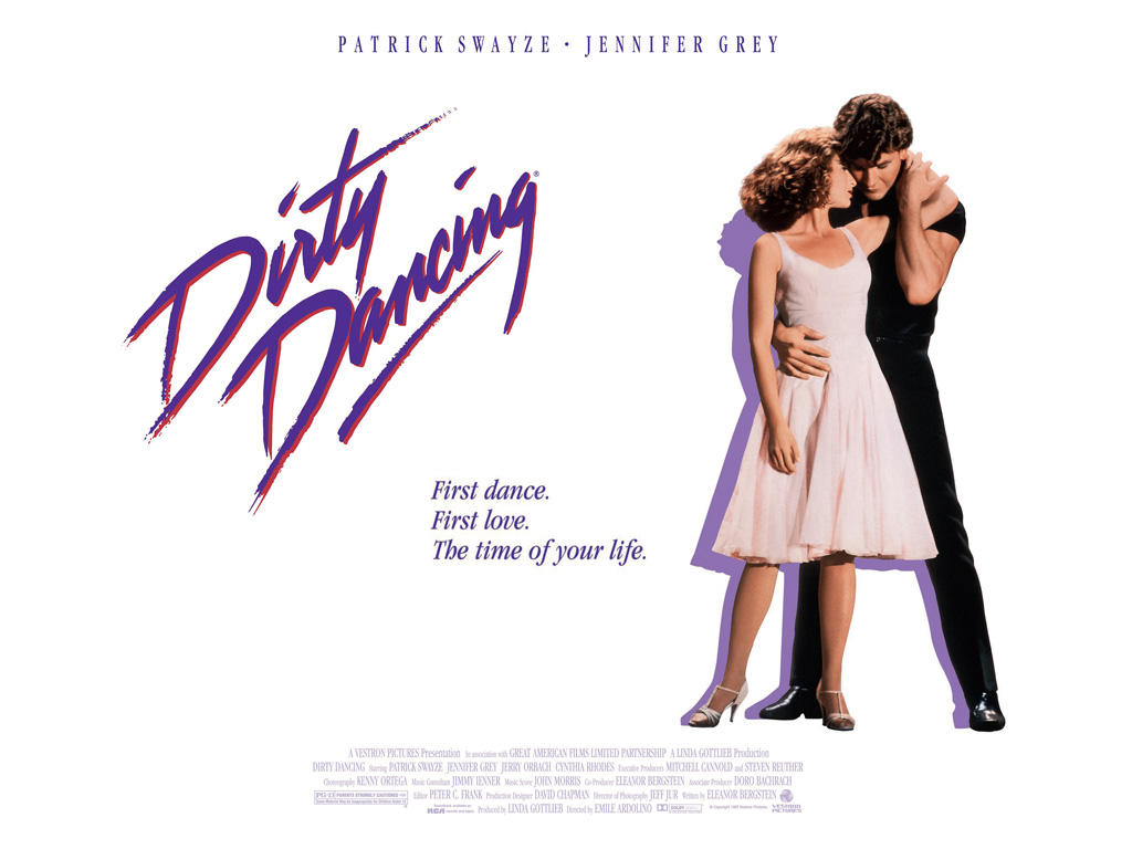 dirty dancing movie poster - photo #2