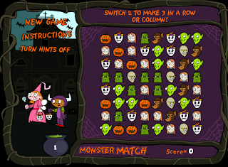 http://www.tvokids.com/games/monstermatch