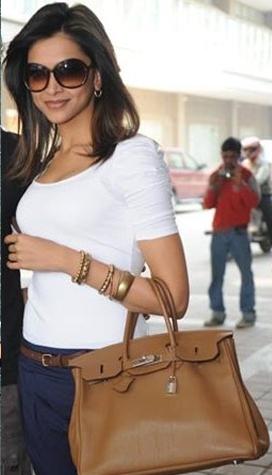 celine micro luggage tote bag - High Street High Fashion: The handbag world of Deepika Padukone