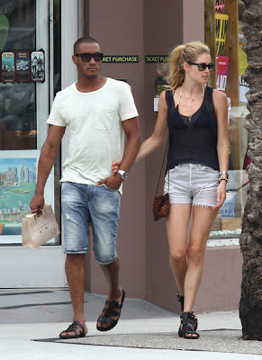 Doutzen Kroes Husband Pictures 2012