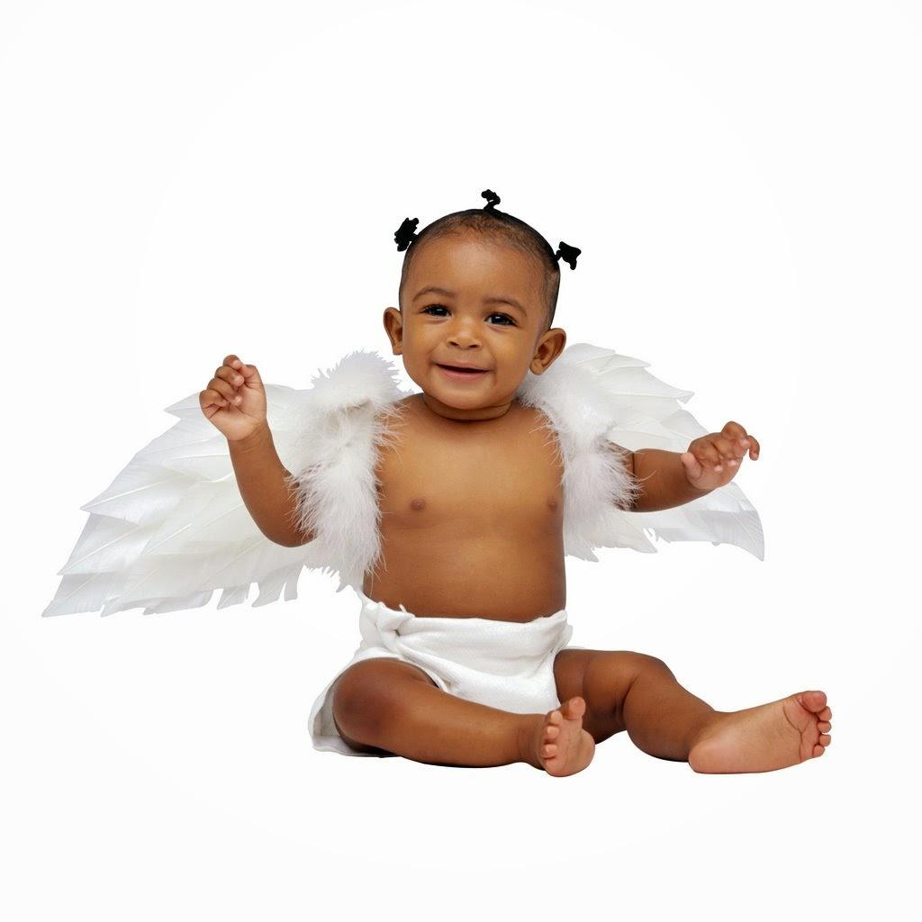 foto bayi ceria