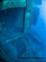 Zenobia shipwreck in Cyprus