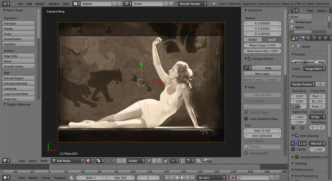Pat David: 2.5D Parallax Animated Photo Tutorial (using Free Software)