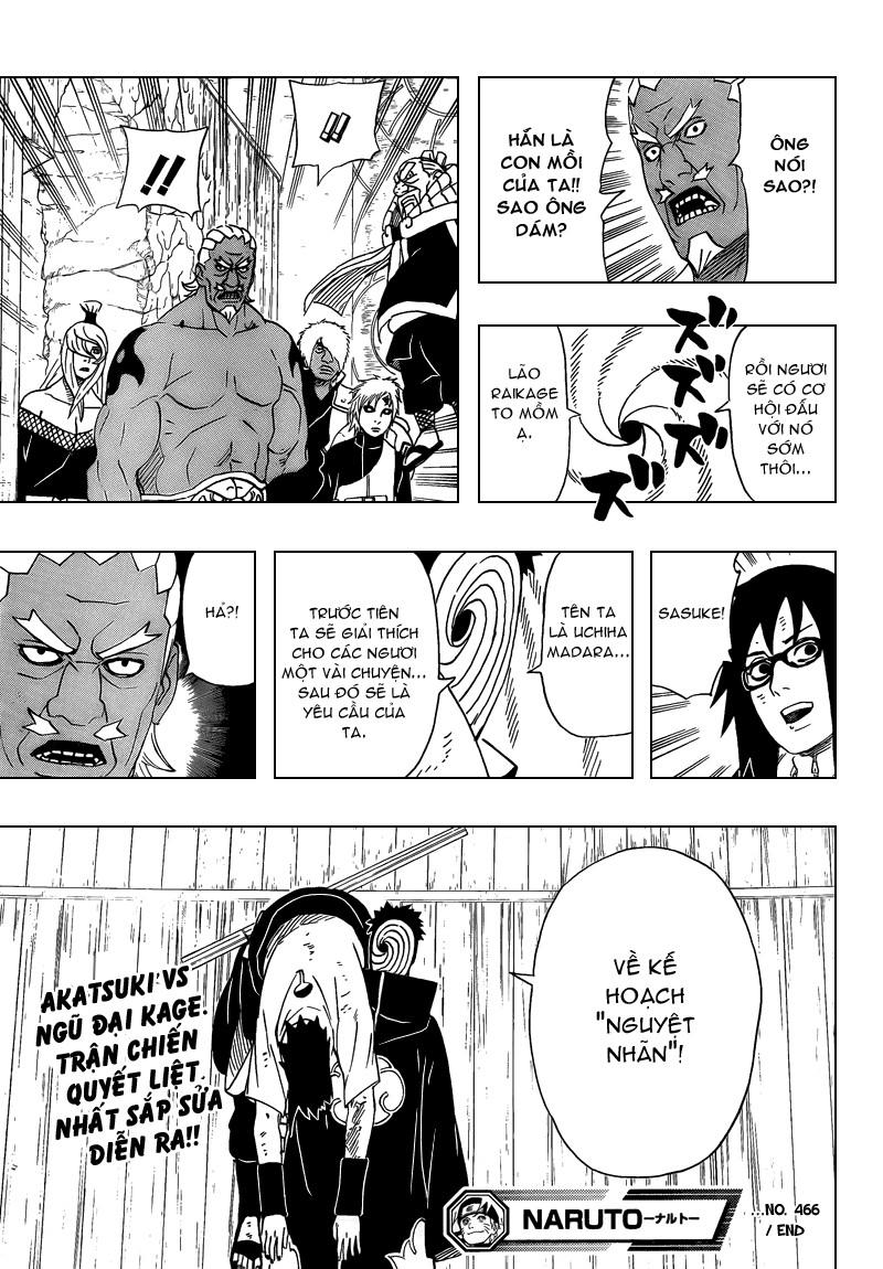 Naruto chap 466 Trang 17 - Mangak.info