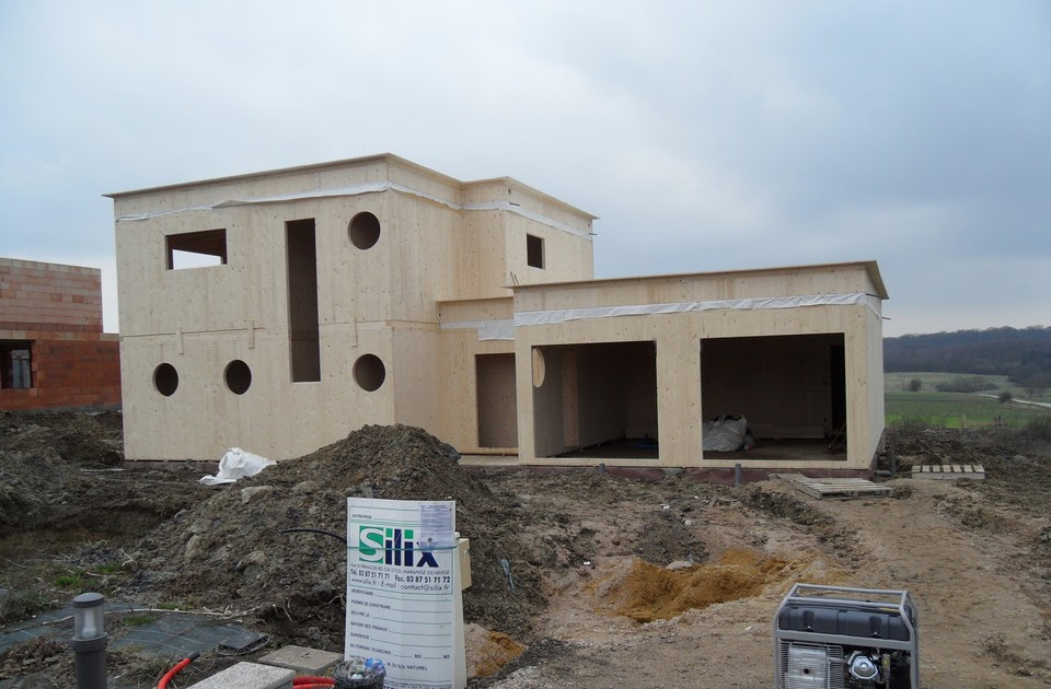 Notre maison passive au pays des 3 fronti res lorraine reprises bois tan - Maison bioclimatique definition ...