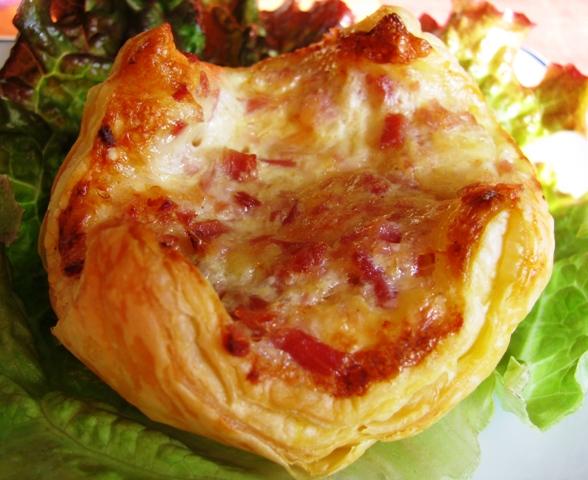 Cuisine solo petit panier jambon fromage - Congeler de la creme fraiche ...