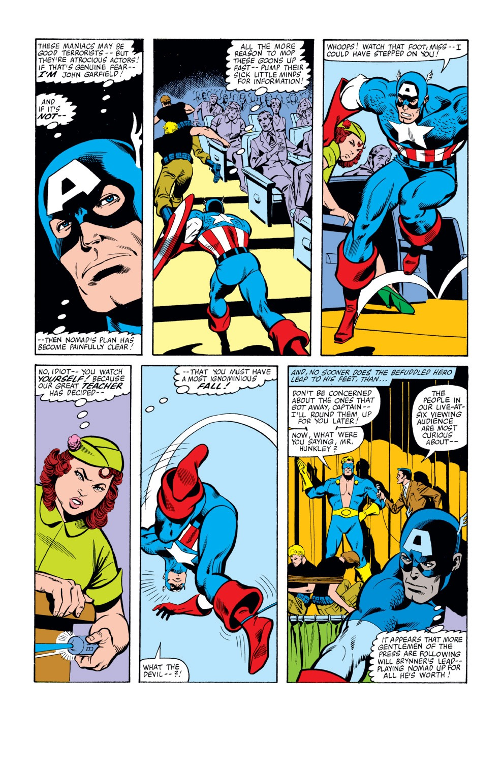 Captain America (1968) Issue #262 #177 - English 12