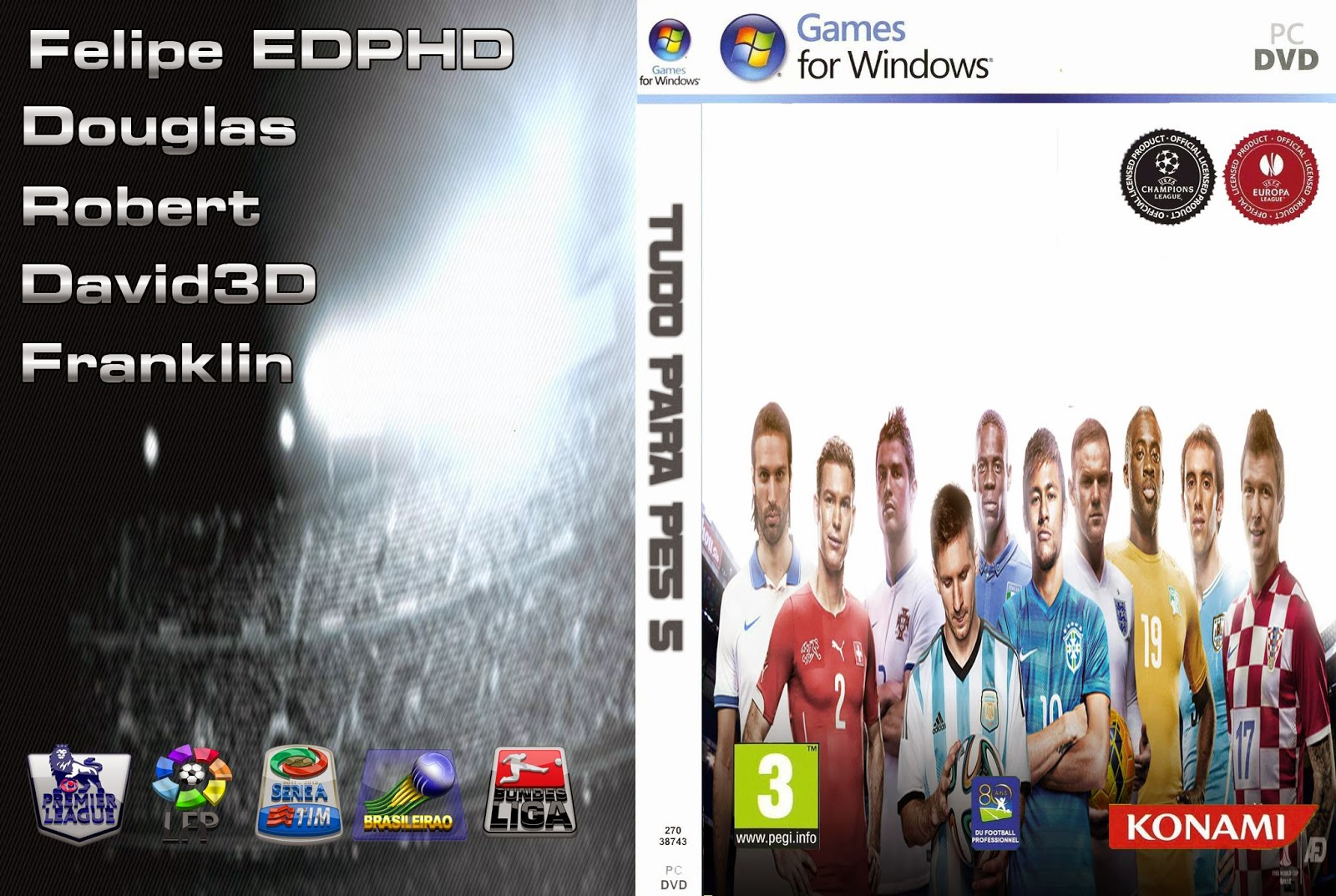 PES5/WE9] Patch TPP5 2.0 (2014)