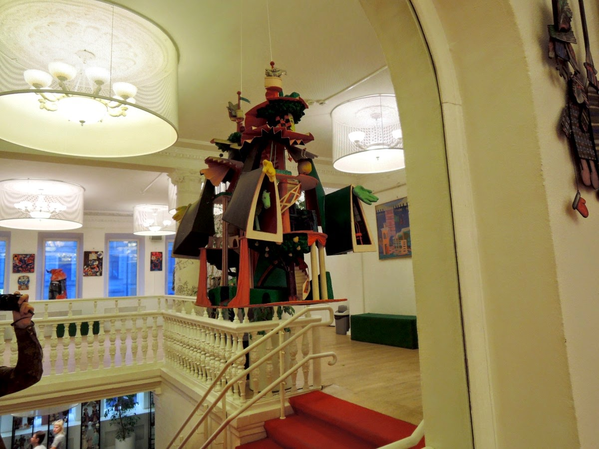 московский театр кукол интерьер