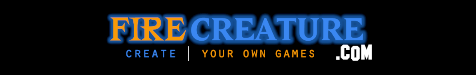 FIRECREATURE | Create Your Own Games