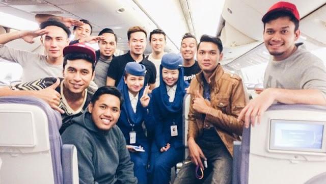 Cairo - Dalam perjalanan pulang ke Malaysia