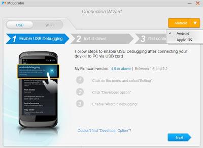 Moborobo setup on your computer