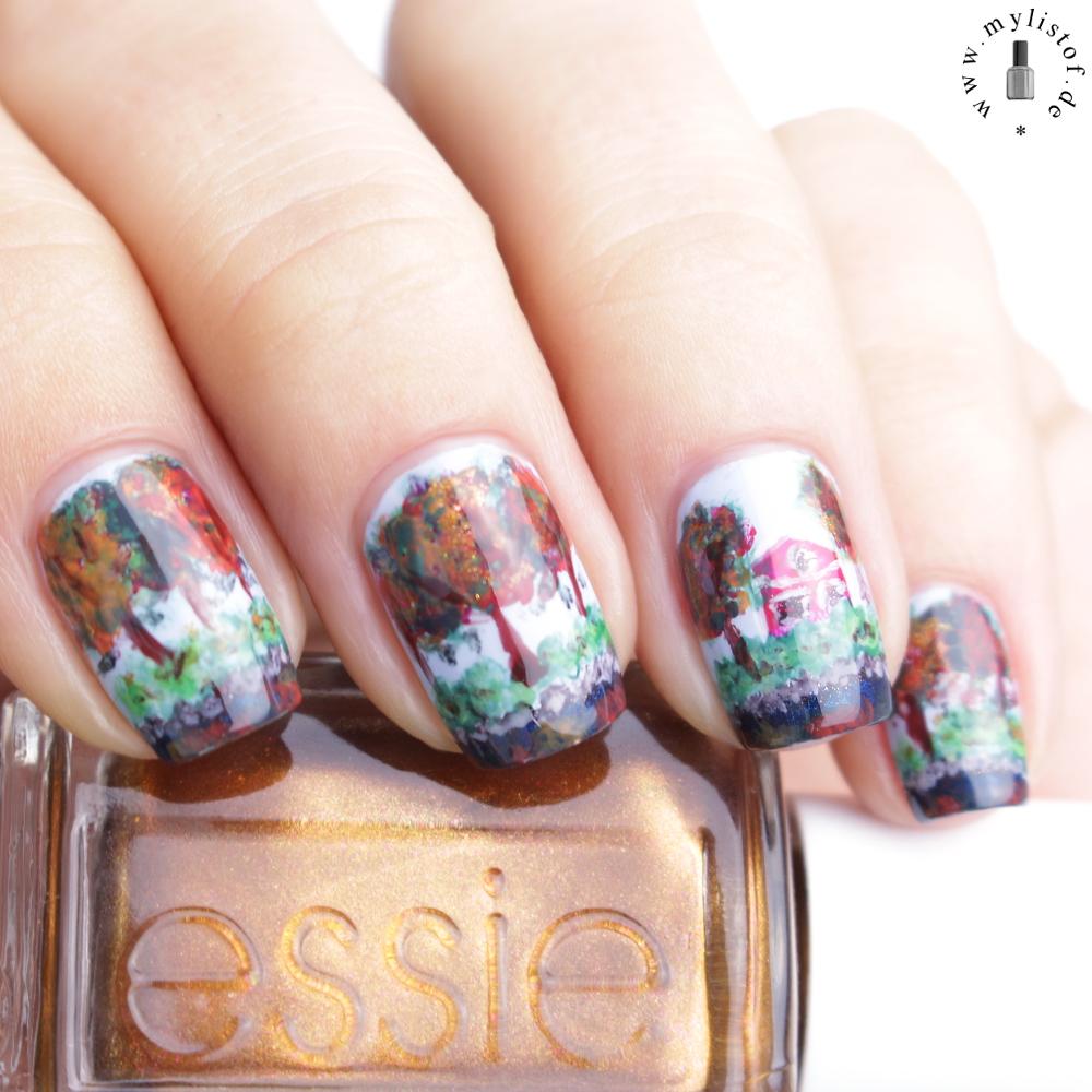 My List Of ....: [ Specialties ] Natur auf den Nägeln mit der Essie ...