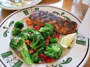 My Herb Grilled Salmon and Vegies