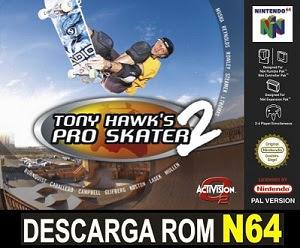 Tony Hawk's Pro Skater 2 ROMs Nintendo64