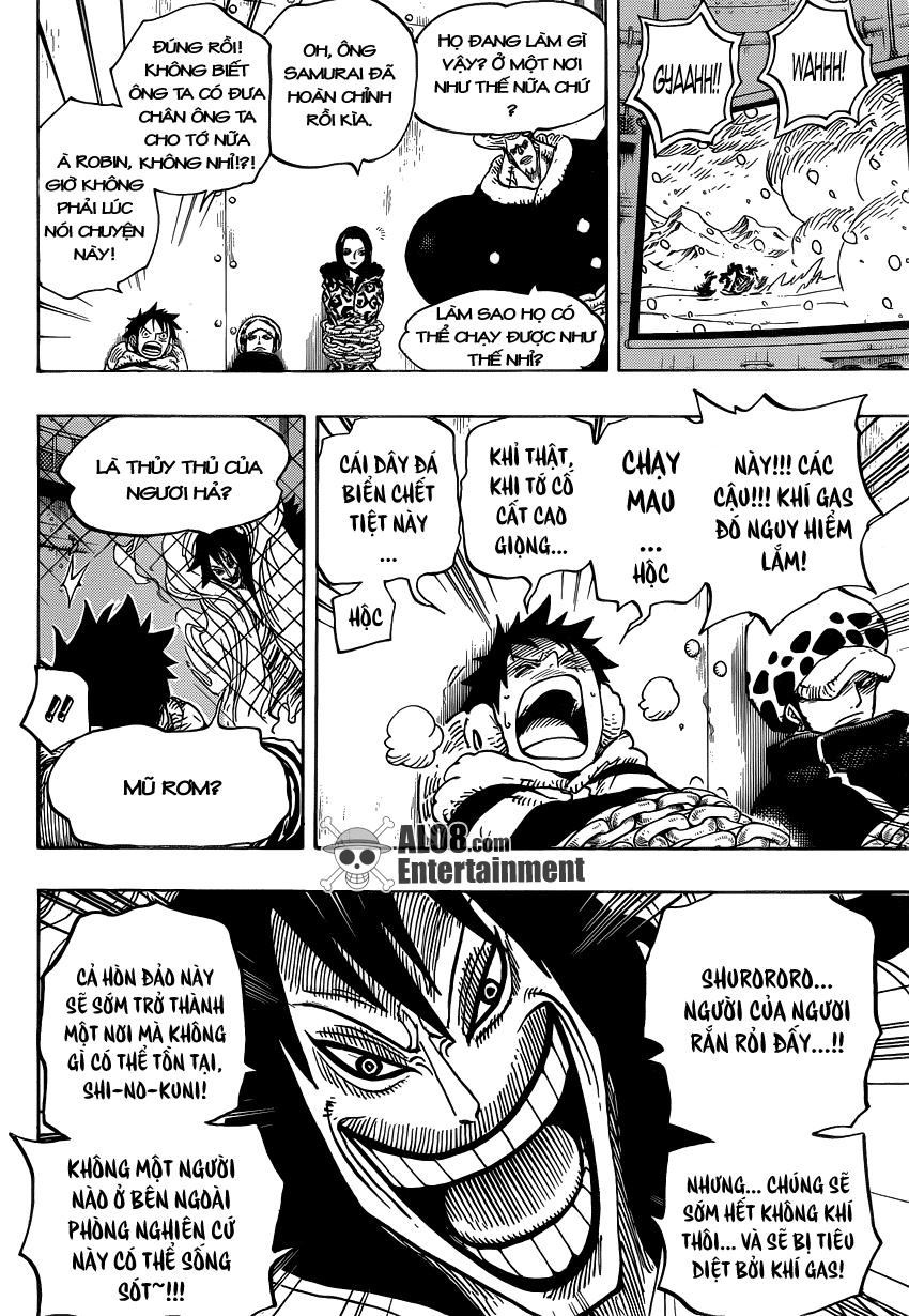 One Piece Chapter 676: Vũ khí hủy diệt hàng loạt 015