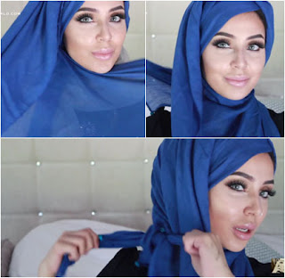 Langkah Keempat Tutorial Hijab Pashmina Fatiha