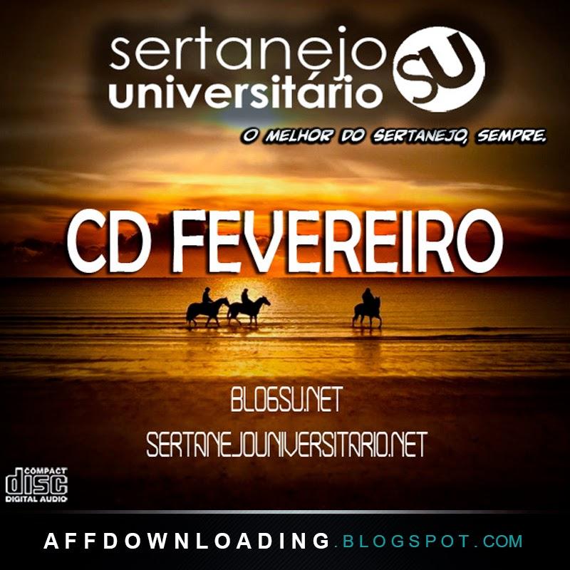 CD BlogSU - Sertanejo Universitário - Fevereiro - 2015
