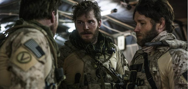 Chris Pratt and Joel Edgerton Zero Dark Thirty