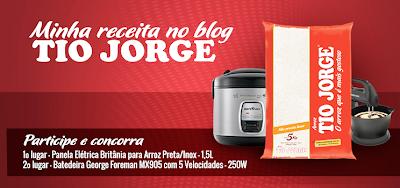 """Promoção """"Minha Receita No Blog Tio Jorge"""""""
