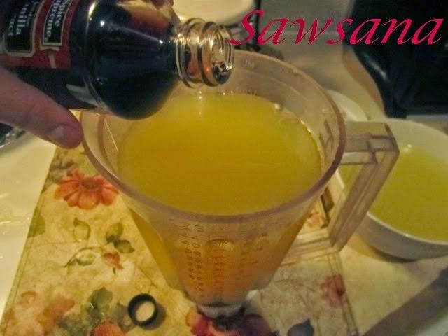 عصير لذيذ بالحامض