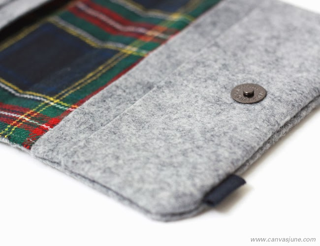 passport cover, Etsy shop, handmade passport cover, passport holder, handmade designs, handmade felt passport cover, handmade gray felt wallet, gray felt passport cover, modern passport cover design, canvasjune passport cover