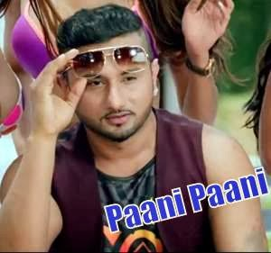 Honey Singh PAANI PAANI LYRICS from Yaariyan