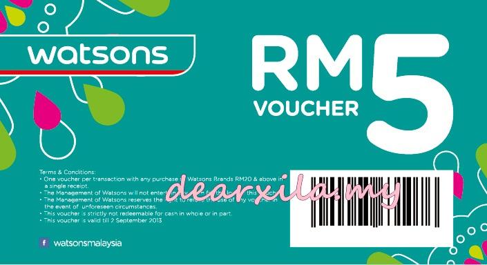 watsons, shopping voucher, Azam Raya dari Watsons, Watsons Malaysia, Hari raya aidilfitri, advertorials, Ramadhan