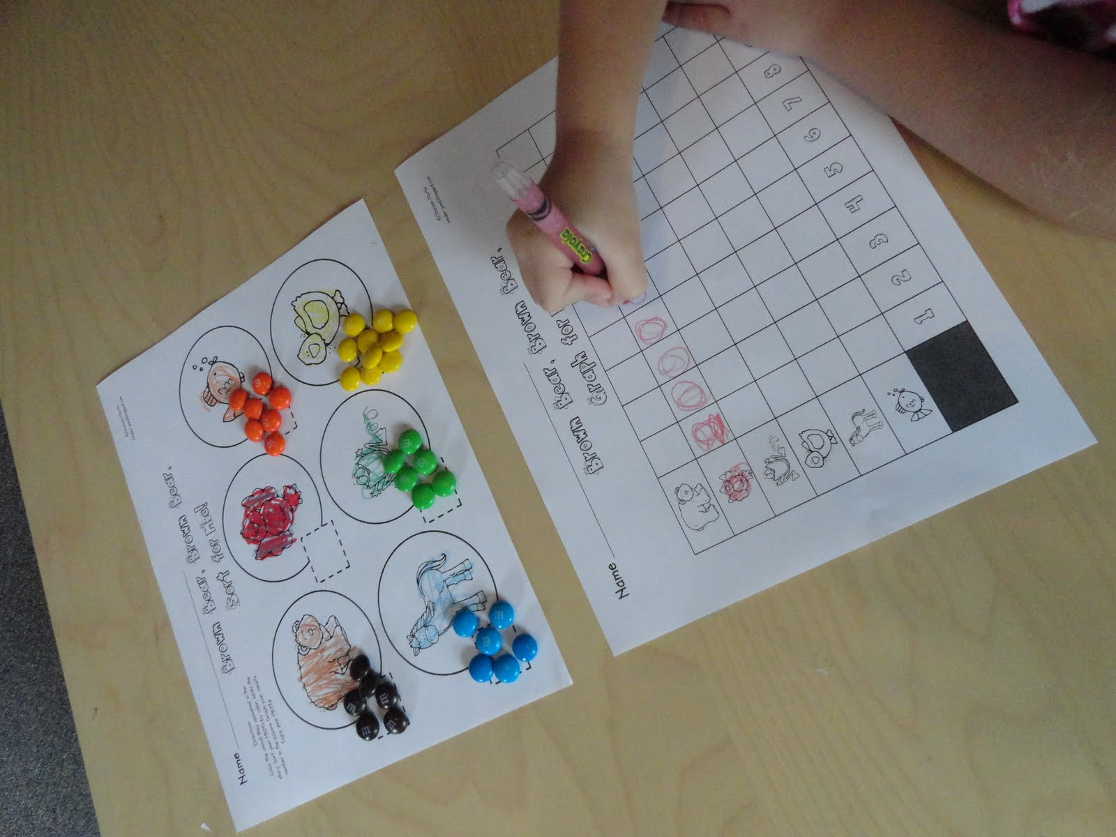 Izzie, Mac and Me: Brown Bear, Brown Bear Math Activities