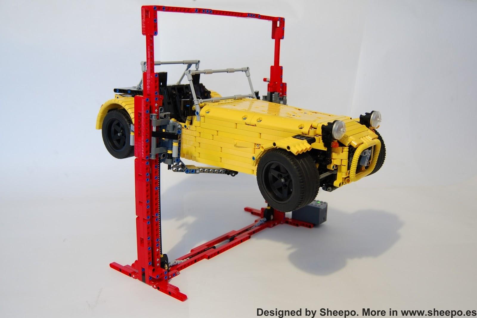 Sheepo S Garage Car Lift