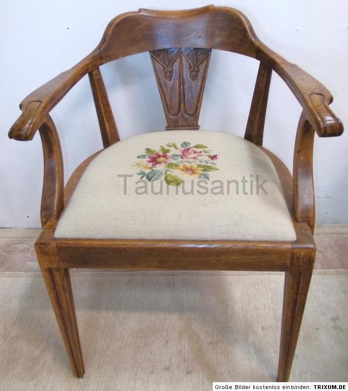 designer antik m bel stuhl sessel schreibtischstuhl. Black Bedroom Furniture Sets. Home Design Ideas