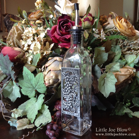 Grapes | Vineyard Oil Bottles - sold on http://littlejoeblow.com/GRAPES-oil-bottles.html by Little Joe Blow Ind. photo 2