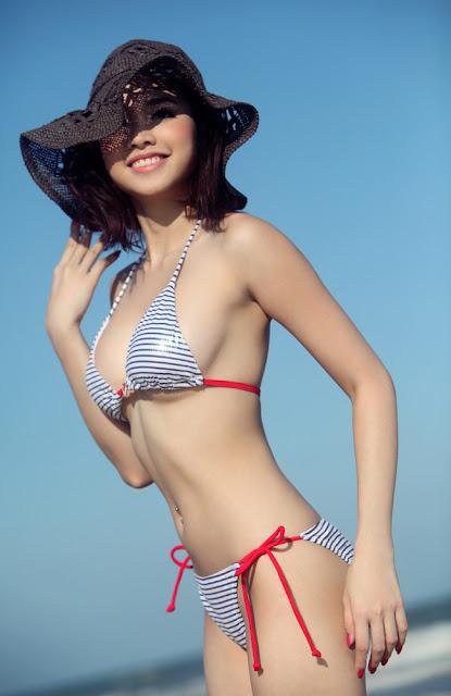 Dinh Ngoc Diep Bikini Photos