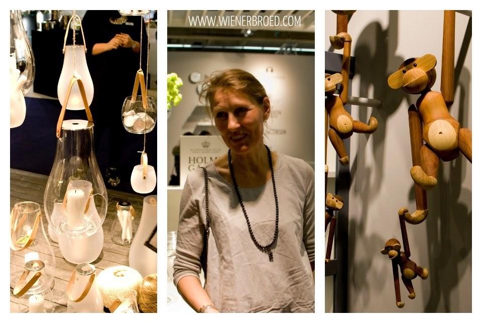 "Holmegaard ""Design with light"" - Designer Maria Berntsen / Kay Bojesen Holzaffen"