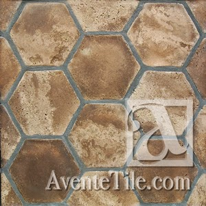 Arabesque Hexagon Spanish Paver Handmade Cement Tile