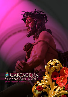 Cartel de Semana Santa de Cartagena 2012 - Moisés Ruiz Cantero